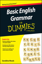 Basic English Grammar For Dummies - US by Geraldine Woods