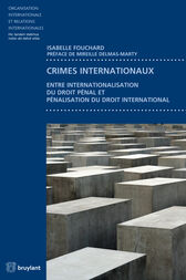 Crimes internationaux by Isabelle Fouchard