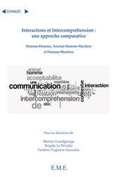 Interactions et Intercompréhension : une approche comparative by Marine Grandgeorge