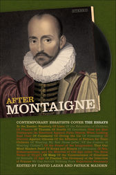 After Montaigne by David Lazar