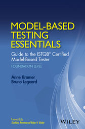 Model-Based Testing Essentials - Guide to the ISTQB Certified Model-Based Tester by Anne Kramer