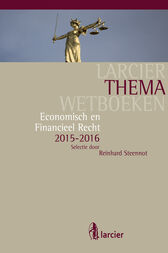 Economisch en financieel recht by Reinhard Steennot