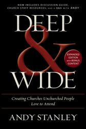 Deep and   Wide by Andy Stanley
