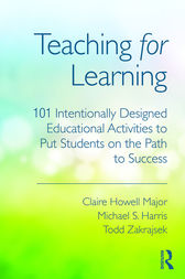 Teaching for Learning by Claire Howell Major