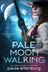 Pale Moon Walking by Paula Altenburg