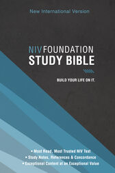 NIV, Foundation Study Bible, Ebook by Zondervan