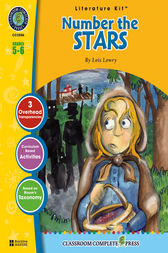 Number the Stars - Literature Kit Gr. 5-6 by Nat Reed