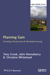 Planning Gain by Tony Crook