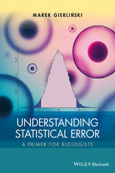 Understanding Statistical Error by Marek Gierlinski