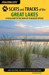 Scats and Tracks of the Great Lakes by James Halfpenny