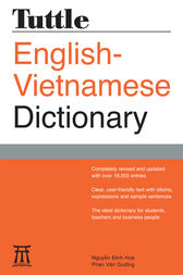 Tuttle English-Vietnamese Dictionary by Nguyen Dinh Hoa