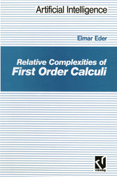 Relative Complexities of First Order Calculi by Elmar Eder