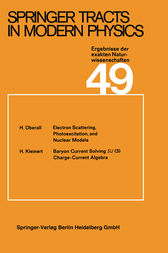 Springer Tracts in Modern Physics by G. Höhler