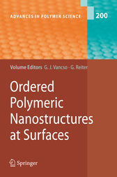 Ordered Polymeric Nanostructures at Surfaces by G. Julius Vancso