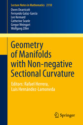 Geometry of Manifolds with Non-negative Sectional Curvature by Owen Dearricott
