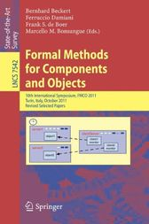 Formal Methods for Components and Objects by Bernhard Beckert