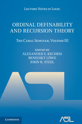 Ordinal Definability and Recursion Theory: Volume 3 by Alexander S. Kechris