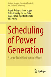 Scheduling of Power Generation by András Prékopa