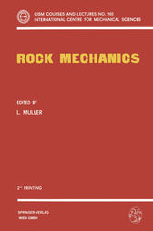 Rock Mechanics by Leopold Müller