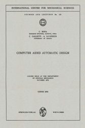 Computer Aided Automatic Design by C. Bona