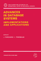 Advances in Database Systems by J. Paredaens