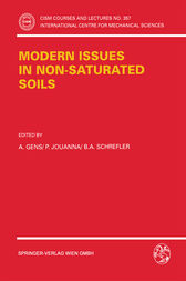 Modern Issues in Non-Saturated Soils by A. Gens
