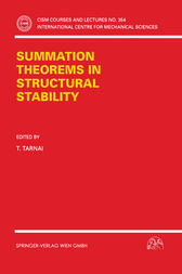 Summation Theorems in Structural Stability by T. Tarnai