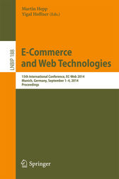 E-Commerce and Web Technologies by Martin Hepp