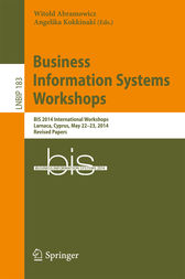Business Information Systems Workshops by Witold Abramowicz