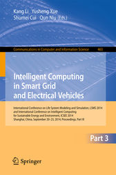 Intelligent Computing in Smart Grid and Electrical Vehicles by Kang Li