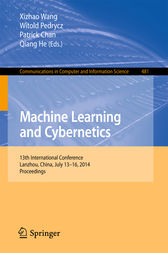 Machine Learning and Cybernetics by Xizhao Wang