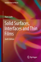 Solid Surfaces, Interfaces and Thin Films by Hans Lüth