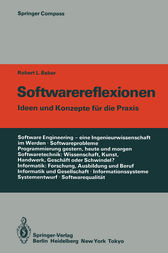 Softwarereflexionen by Robert L. Baber