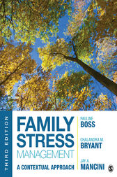 Family Stress Management by Pauline E. Boss