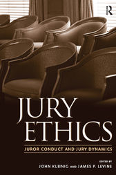 Jury Ethics by John Kleinig