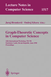 Graph-Theoretic Concepts in Computer Science by Juraj Hromkovic