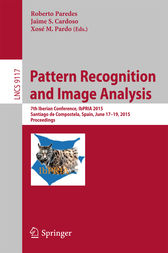 Pattern Recognition and Image Analysis by Roberto Paredes