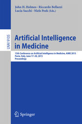 Artificial Intelligence in Medicine by John H. Holmes