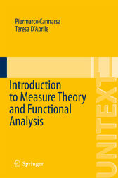 Introduction to Measure Theory and Functional Analysis by Piermarco Cannarsa