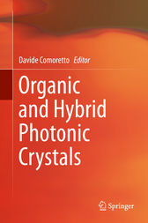 Organic and Hybrid Photonic Crystals by Davide Comoretto