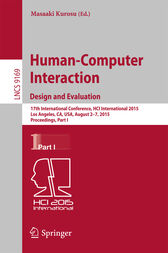 Human-Computer Interaction: Design and Evaluation by Masaaki Kurosu