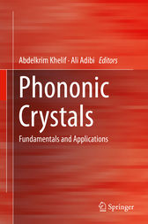 Phononic Crystals by Abdelkrim Khelif