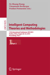 Intelligent Computing Theories and Methodologies by De-Shuang Huang