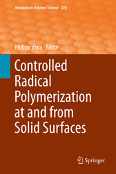 Controlled Radical Polymerization at and from Solid Surfaces by Philipp Vana