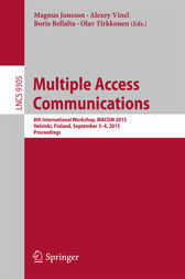 Multiple Access Communications by Magnus Jonsson