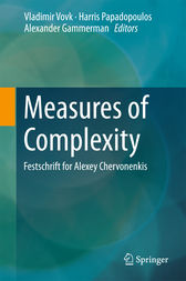 Measures of Complexity by Vladimir Vovk