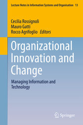 Organizational Innovation and Change by Cecilia Rossignoli