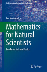 Mathematics for Natural Scientists by Lev Kantorovich
