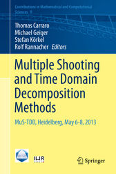 Multiple Shooting and Time Domain Decomposition Methods by Thomas Carraro