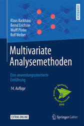 Multivariate Analysemethoden by Klaus Backhaus